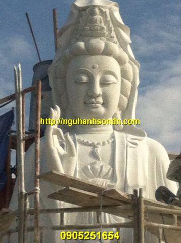 Tượng Phật Quan Âm bằng đá đẹp nhất